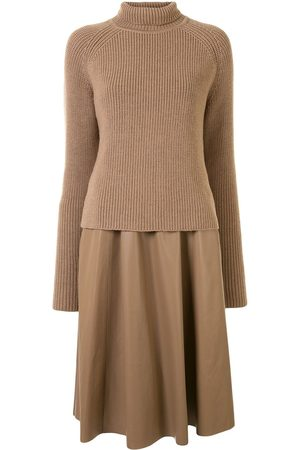 DROME Roll neck chunky knit jumper