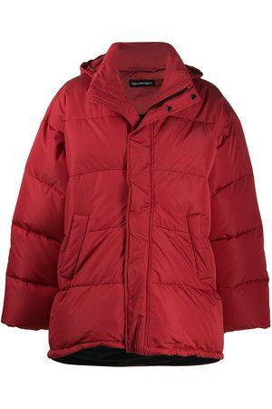 Balenciaga Short padded parka coat
