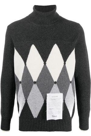 BALLANTYNE Diamond cashmere jumper