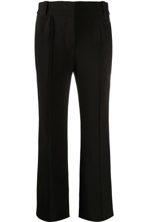 Fendi Crease-detailing flared trousers