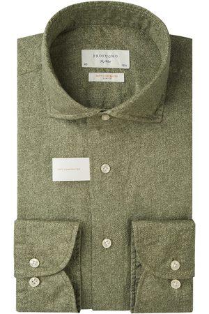 Profuomo Heren Overhemden - Soft constructed overhemd Sky Blue heren
