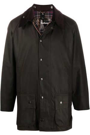 Barbour Beaufort snap-fastening coat