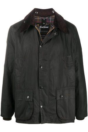 Barbour Heren Leger jassen - Bedale snap-fastening jacket