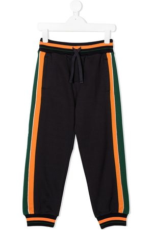 Dolce & Gabbana Logo embellished cotton sweatpants