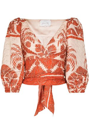 JOHANNA ORTIZ Astral floral-print blouse