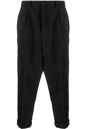 Ami Heren Broeken - Cropped straight-leg trousers