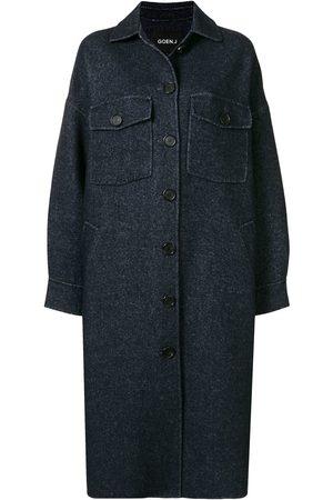 GOEN.J Oversized double-faced coat