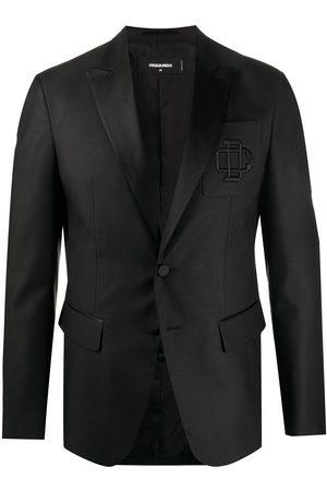 Dsquared2 Embroidered logo blazer