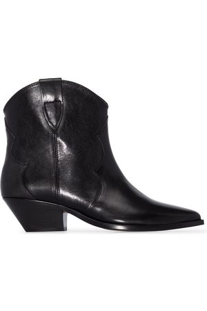 Isabel Marant Dewina leather western boots