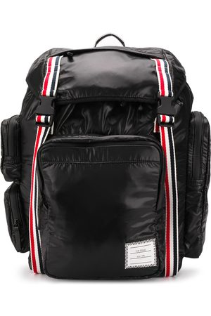 Thom Browne Heren Rugzakken - 4-Bar detail backpack