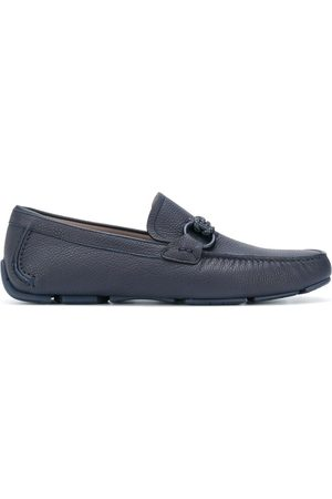 Salvatore Ferragamo Heren Loafers - Gancini moccasin driver shoes