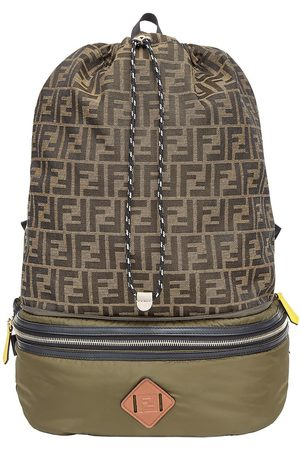 Fendi Convertible logo-print backpack