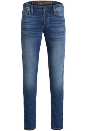 Jack & Jones Glenn Original Ge 006 Indigo Knit Slim Fit Jeans Heren Blauw
