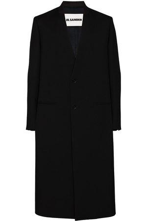 Jil Sander Oversized single-breasted wool coat