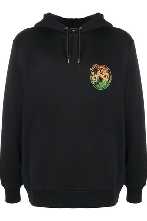 Paul Smith Heren Strings - Logo print drawstring hoodie