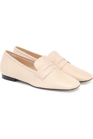 Khaite The Carlisle leather loafers