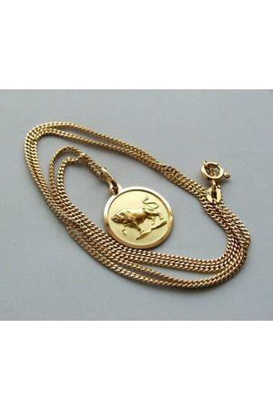 Christian Gouden collier met hanger