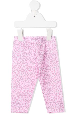 MONNALISA Leopard print trousers