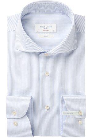 Profuomo Heren Overhemden - Travel overhemd extra lange mouw heren
