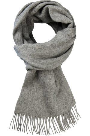 Profuomo Grijze wollen sjaal heren