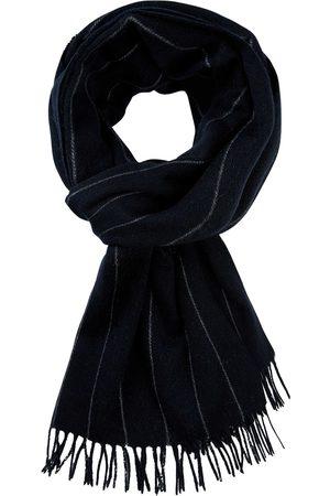 Profuomo Navy gestreepte sjaal heren