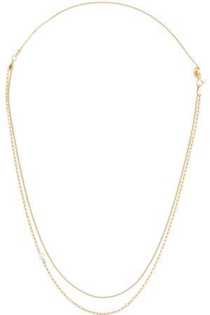 Maria Black Chain pearl necklace