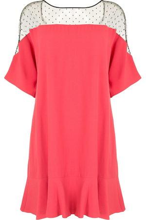 RED Valentino Ruffle-detailing mini dress