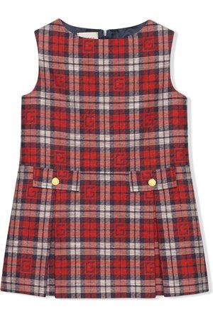 Gucci Square G checked dress