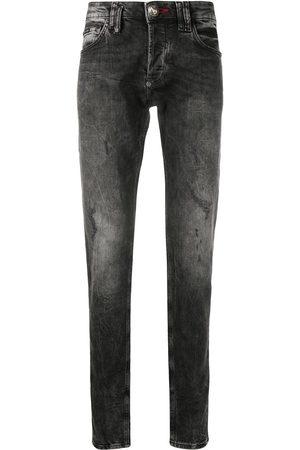 Philipp Plein Outline Skull Straight Cut jeans
