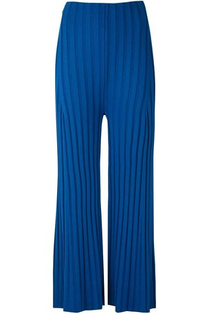OSKLEN Knitted flared trousers