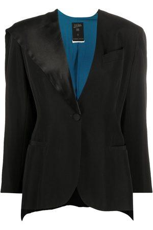 Jean Paul Gaultier 1990s side-cape blazer jacket