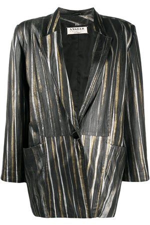A.N.G.E.L.O. Vintage Cult 1980s metallic-striped blazer