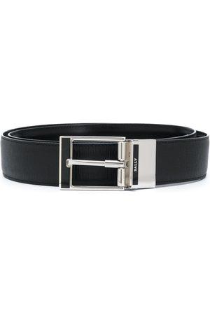 Bally Silver buckle belt