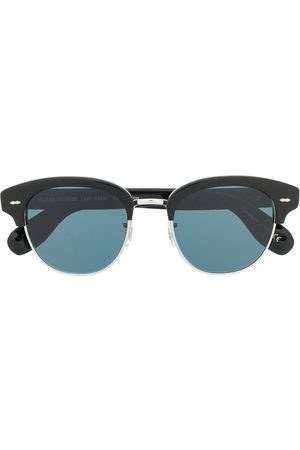 Oliver Peoples Square tinted sunglasses