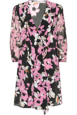 Dorothee Schumacher Floral silk-blend crêpe minidress