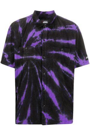 NEIGHBORHOOD Tie-dye cotton shirt