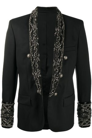 Balmain Embroidery double-breasted blazer