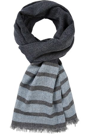 Profuomo Heren Sjaals - Scarf woven navy heren