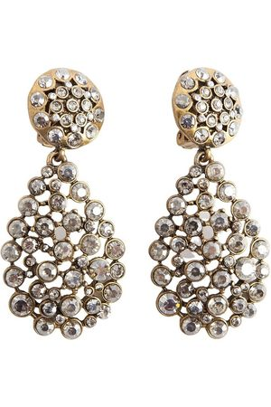 Oscar de la Renta Assymetric earrings