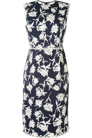 Sachin & Babi Lillie floral-print faille dress