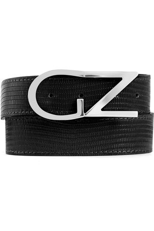 Giuseppe Zanotti Lizard effect belt