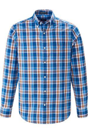 GANT Heren Overhemden - Overhemd van 100% katoen ruitdessin