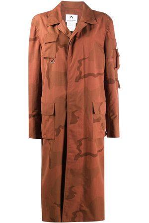 Marine Serre Cargo mid-length coat