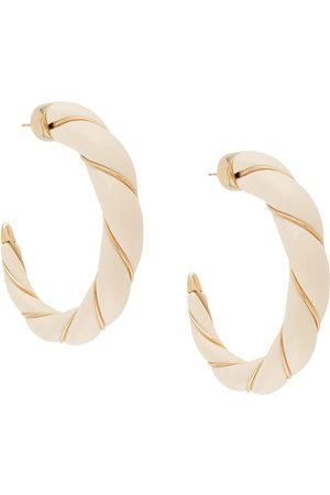 Aurélie Bidermann 18 kt gold Diana hoop earrings