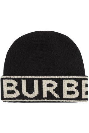 Burberry Dames Mutsen - Logo Cashmere Knit Beanie