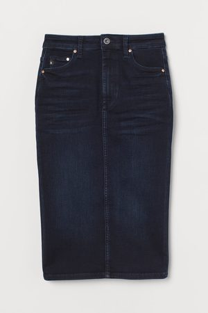 H&M Shaping denim kokerrok