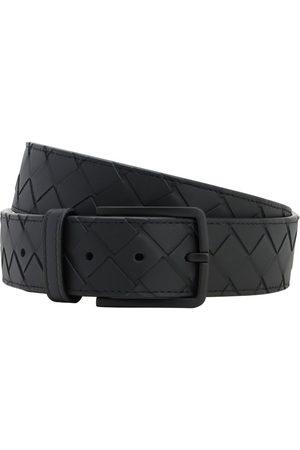 Bottega Veneta 35mm New Intreccio Buckle Leather Belt