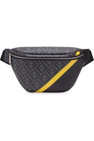 Fendi Panelled FF motif belt bag