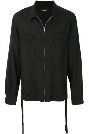 UNDERCOVER Long-sleeved zipped up shirt