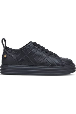 Fendi FF embossed sneakers